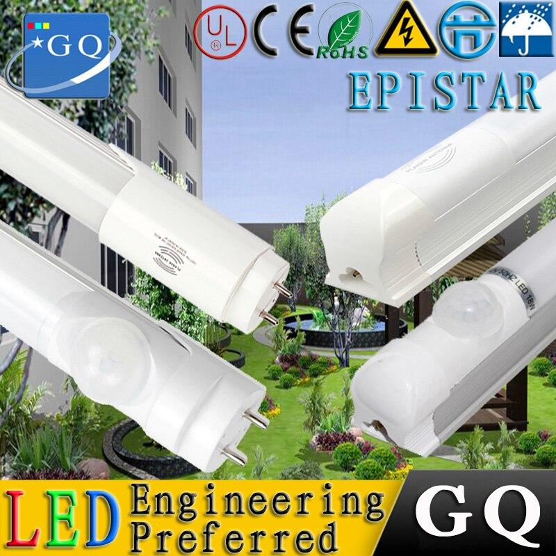25 uds. 18w 24w tubo led tubo LED sensor luz T8 1,2 metros luz led GU5.3