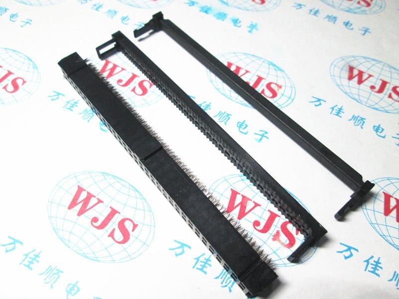 50 قطع idc soquete FC-60P 2.54 ملليمتر idc conector 60-pin conector 60 وعاء 2x30 p idc jtag conector