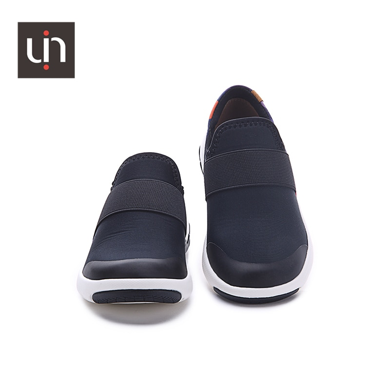 UIN Zaans Design Microfiber Leather Casual Sneakers for Kids Easy Slip-on Children Shoes Soft Flats Boys/Girls enlarge