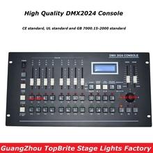 2020 nouveau contrôleur DMX 2024 DMX 512 Console de lumière de scène DMX contrôleur déclairage affichage LCD pour LED