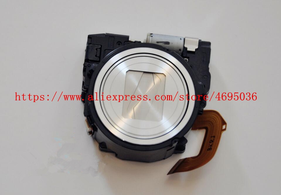 Nueva lente Zoom para Sony cyber-shot DSC-WX300 WX300 DSC-WX350 WX350 pieza de reparación para cámara digital (negro plateado marrón)