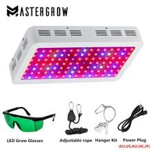 Diamant 300W 600W 800W 1000W 1200W 1500W 1800W 2000W W Double puce LED grandir lumière spectre complet rouge/bleu/UV/IR pour les plantes dintérieur