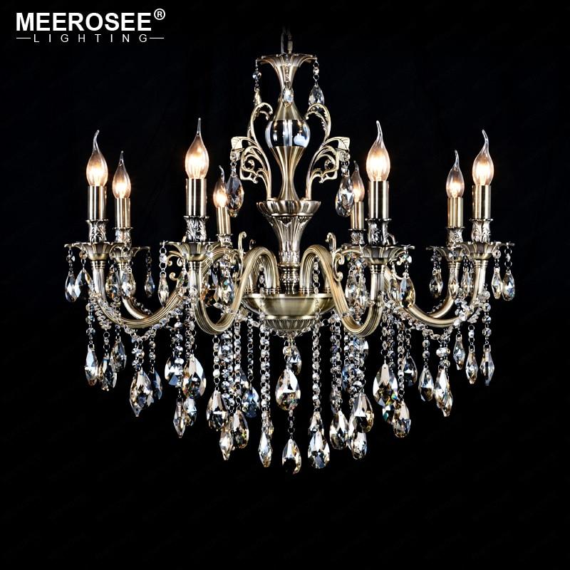 Люстра, подвесная люстра из кристаллов, хорошее качество, освещение для столовой, гостиной