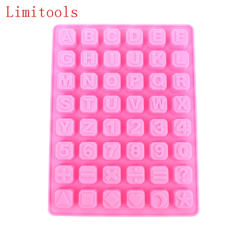 AliExpress - Chocolate Silicone Cake Mold Ice Cube Candy Soap 26 English Alphabet Letters Pan Decorating Tools Soap Maker Tray
