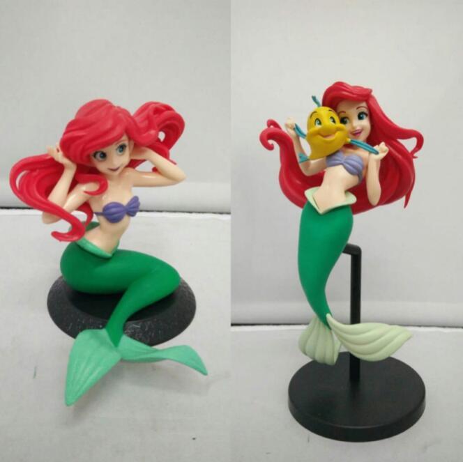 New Hot! Sereia figura brinquedo spm princesa ariel pequena sereia pvc figura de ação modelo brinquedo bonecas presentes