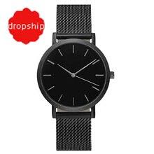 Splendide mode femmes cristal en acier inoxydable analogique Quartz montre-Bracelet Bracelet montres habillées