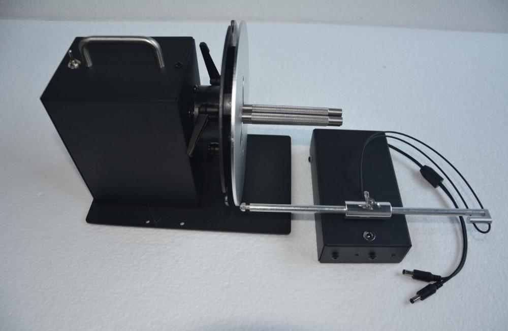 Nueva máquina de rebobinado bidireccional de 100mm HB-C3 con contador de envío rápido