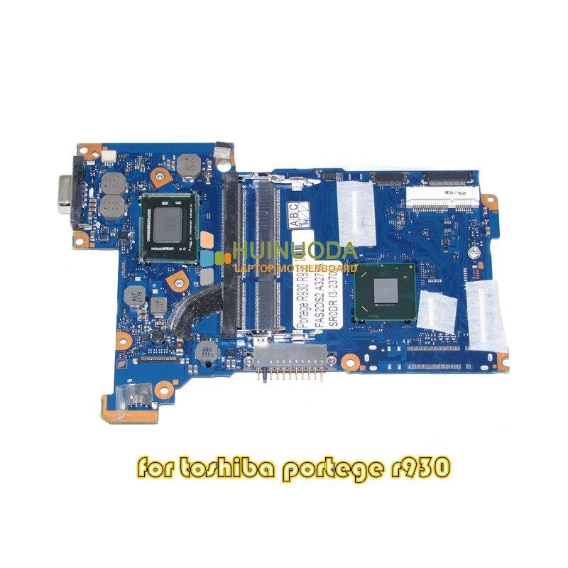 NOKOTION FAS2DS2 A3275A para toshiba Portege R930 R935, placa base para ordenador portátil HD4000 HM76 SR0DR I3-2370M
