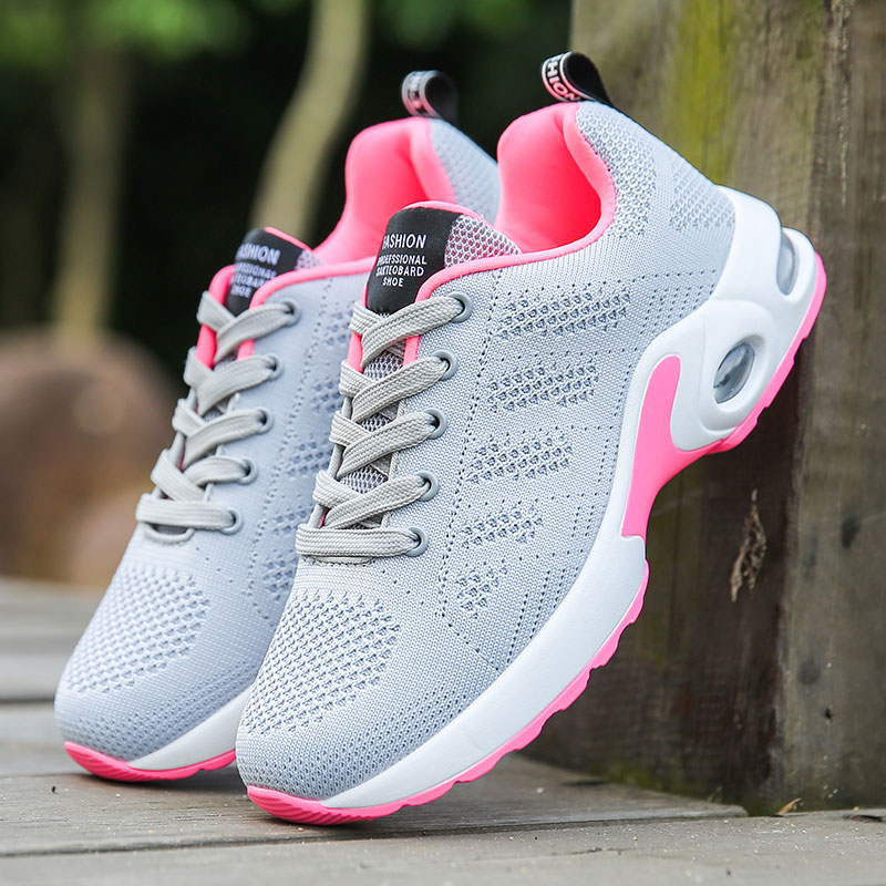 MWY Breathable Mesh Running Shoes For Women Zapatillas Deporte Mujer Comfortable Air Cushion Athletic Sport Shoes Women Sneakers