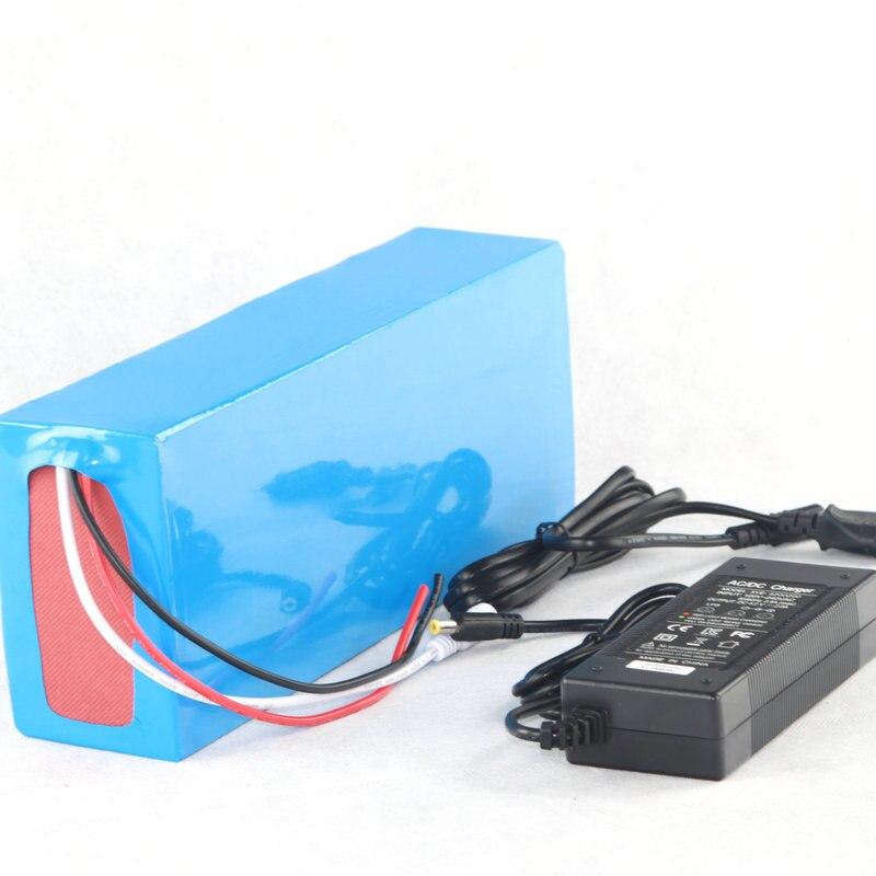 Бесплатная таможенная пошлина Высокое качество DIY 48V 15Ah литий-ионный аккумулятор с 2A зарядным устройством, BMS для 48v 15ah литиевый аккумулятор