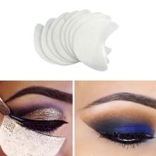 20 teil/paket lidschatten Schild für Lidschatten Shields Protector Pads Augen Lippen Make-Up Anwendung Werkzeug Kostenloser versand