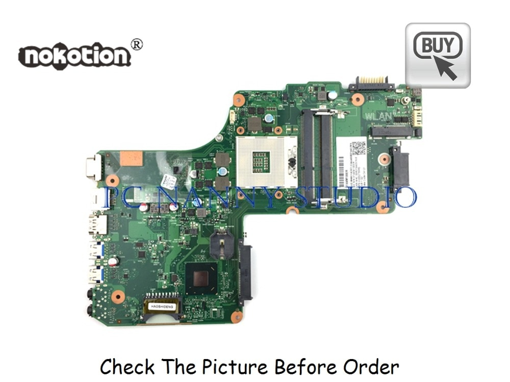 PCNANNY V000275580 pour Toshiba Satellite C855 L855 carte mère dordinateur portable HM76 DDR3 testé