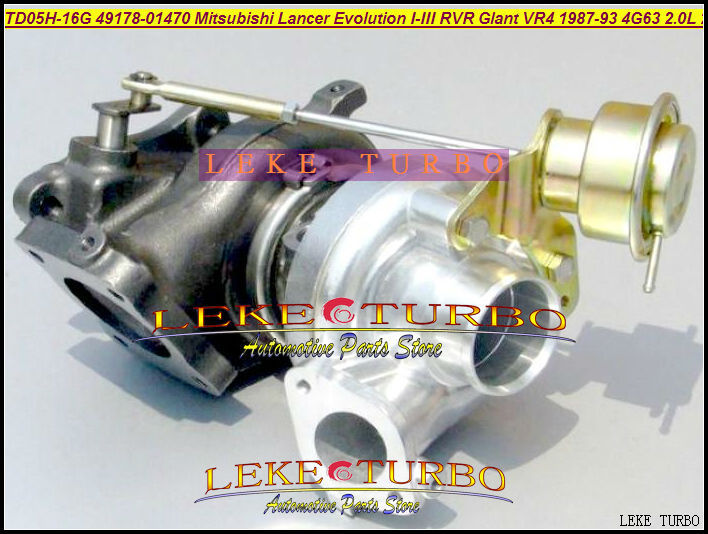 Envío Gratis TD05H-16G 49178-01470 Turbo turbocompresor para MITSUBISHI Lancer Evolution I II III RVR Galant VR4 87-93 4G63 4G63N 2.0L