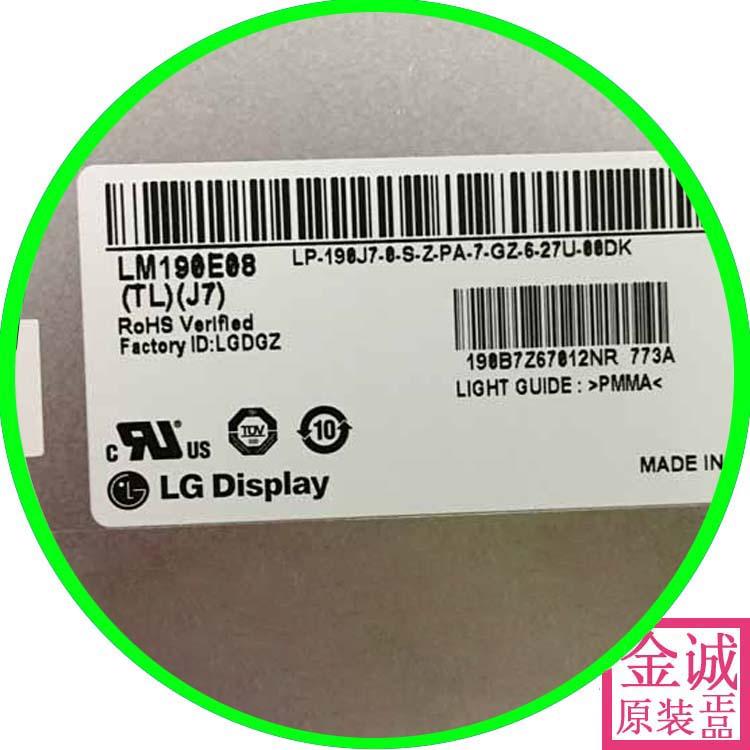 100% original LM190E08-8-TLJ7 lm190e08-tlj1 TLJ5 original nova tela de LCD