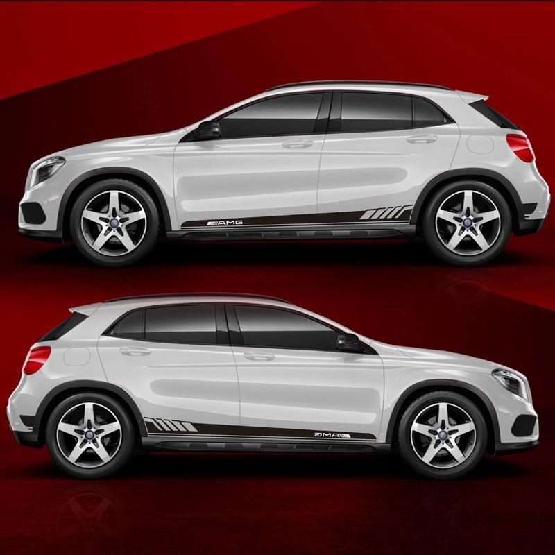 TAIYAO estilo de coche deporte etiqueta engomada del coche para Mercedes-Benz GLA200 GLA260 GLA220d 4MATIC accesorios de coche y calcomanías auto adhesivo