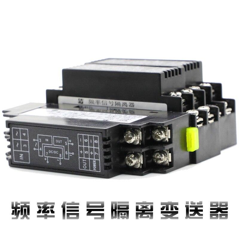 Módulo aislador de señal de transmisor de frecuencia de pulso convertidor 4-20mA voltaje de salida y corriente 0-10V 0-5V