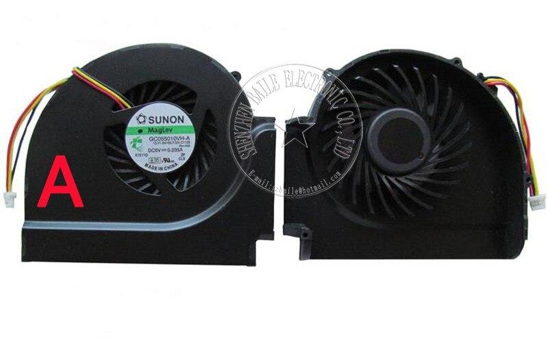 100% nuevo ventilador genuino W510 para ordenador portátil IBM Thinkpad W510 T510 cpu, Original T510 GC055010VH-A DC5V notebook cpu ventilador de refrigeración