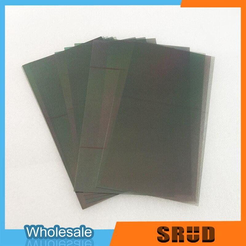10 pçs filme polarizador lcd para motorola moto g1 g2 g3 display lcd filtro filme de polarização