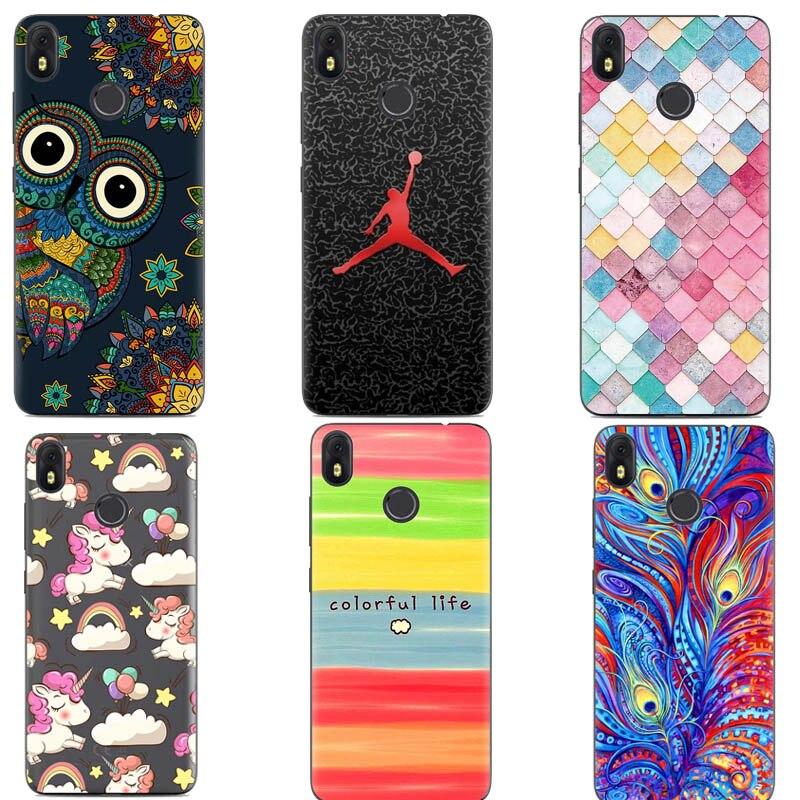 Original para Infinix Hot S3 X573 caso de la cubierta de huellas dactilares del teléfono móvil del teléfono de caso