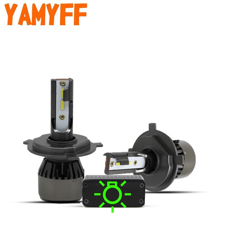 YAMYFF Canbus H7 LED H4 LED H1 Auto Scheinwerfer H11 H8 H9 Mini Auto Lampe 6000K 10000LM Auto Scheinwerfer 12V Nebel Glühbirne Kein Fehler