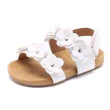 COZULMA été filles fleur plage sandales bébé enfant en bas âge enfants anti-dérapant romain sandales enfants découpes pantoufles chaussures