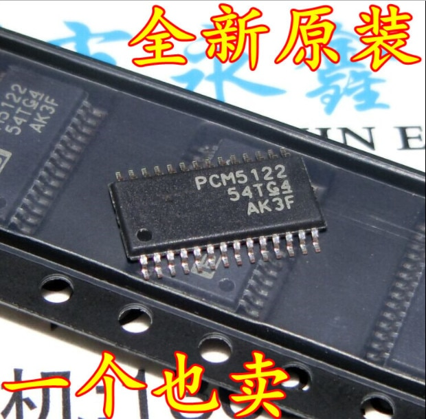 PCM5122 PCM5122PW PCM5122PWR TSSOP28 _ 100% nuevo y original