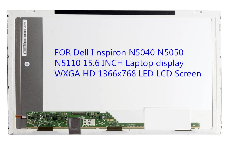 Para Dell me nspiron N5040 N5050 N5110 15,6 pantalla portátil de pulgadas WXGA HD 1366x768 pantalla LCD de pantalla