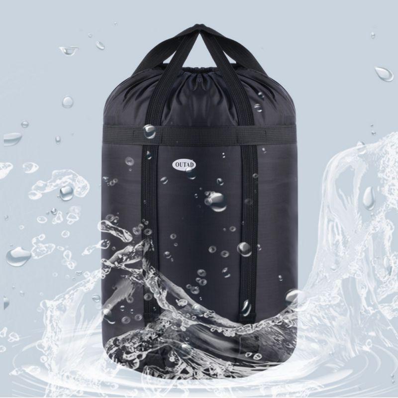 Bolsa de viaje impermeable para deportes al aire libre, bolsa seca para guardar bolsas de almacenamiento comprimida, bolsas de ropa, ropa, edredones, almohadas, saco de dormir
