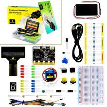 Keyestudio Principiante Starter Kit per BBC micro: bit (Tra Cui Micro: Bit Scheda)