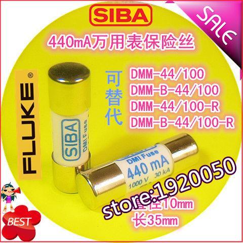 1000 V 440mA alternative DMM-44/100-R DMM-B-44/100 fusible tube