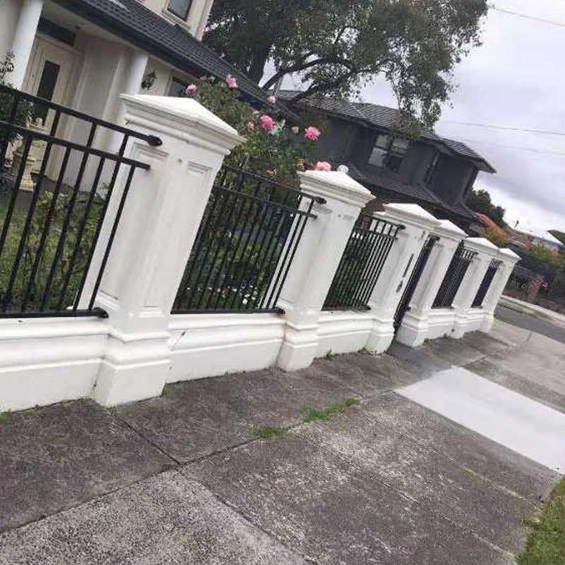 40cm /15.74in ABS GRC Plain Multi Functional Classic Style Concrete Roman Pillar Mold Seat Garden Fence Enclosing Wall Pedestal