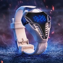 Silicone Triangle Sports LED Digital Watches Men Watch Relogio Masculino Vogue Clock Male Cool Watch