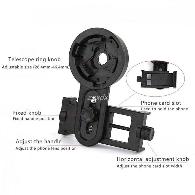 Оптический монокулярный телескоп универсальный держатель адаптер зажим Кронштейн для ширины 5,5-9 см мобильный смартфон оптовая продажа и Прямая поставка
