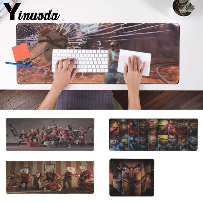 Yinuoda Team Fortress 2 wallpaper  Keyboards Mat Rubber Gaming mousepad Desk Mat Laptop Computer Mat Large Mat pad mouse