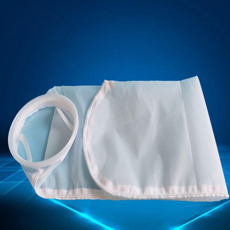 "Tewango 1 STÜCK Filter Socke Nylon 4 ""X 9"" 200 mikron Aquarium Marine Sump Filz Pre Filter Taschen Hohe Qualität 105 MM * 230 MM"
