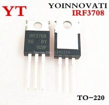 10 Stks/partij IRF3708 3708 Ic-220 Beste Kwaliteit