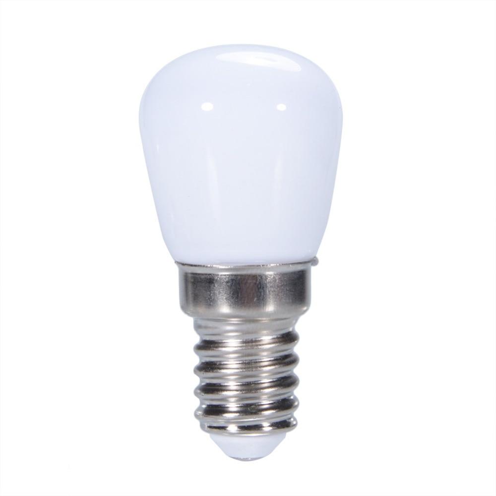 LumiParty AC 220V Mini E14 SMD2835 LED Blub lámpara de cristal para nevera congelador iluminación del hogar