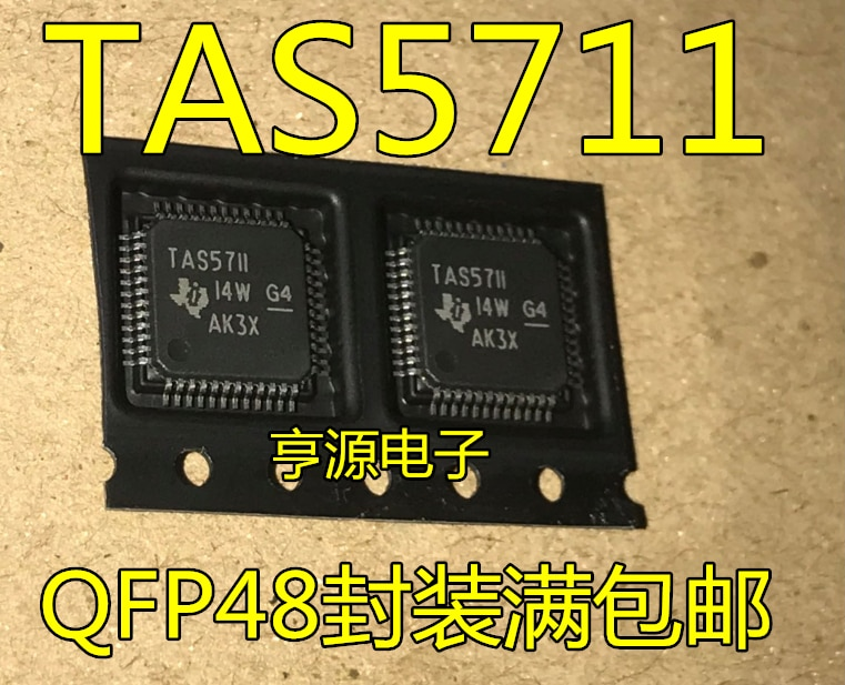 Marca original novo importado genuíno TAS5711 TAS5711PHPR TV LCD chip de driver de áudio