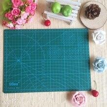 "PVC Cutting Mat a4 ""9 Sea"" Durable Self Healing Handmade DIY Quilting Accessories Flexible Green Patchwork Board Tool 30*22 cm"