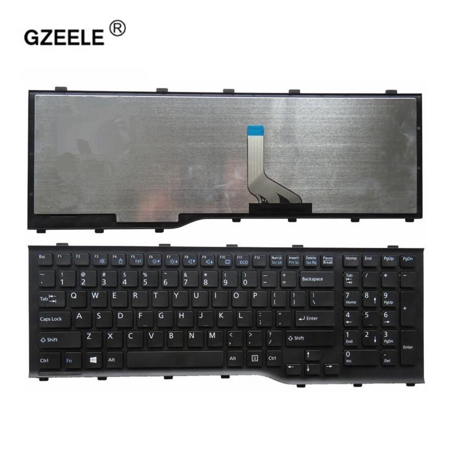 GZEELE جديد الولايات المتحدة لوحة المفاتيح لابتوب فوجيتسو AH532 A532 N532 NH532 PN:MP-11L63US-D85 دفتر استبدال الإنجليزية لوحة المفاتيح