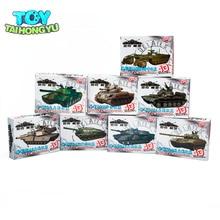 TAIHONGYU 1/72 4D 8 pièces assembler réservoir 4D modèle en plastique Kit la série de Chariot de bataille