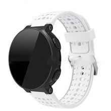 Luxe Bande De Poignet En Silicone Pour Garmin Forerunner 220 230 235 620 630 Montre intelligente Bracelet Pour Forerunner De Traqueur De Forme Physique