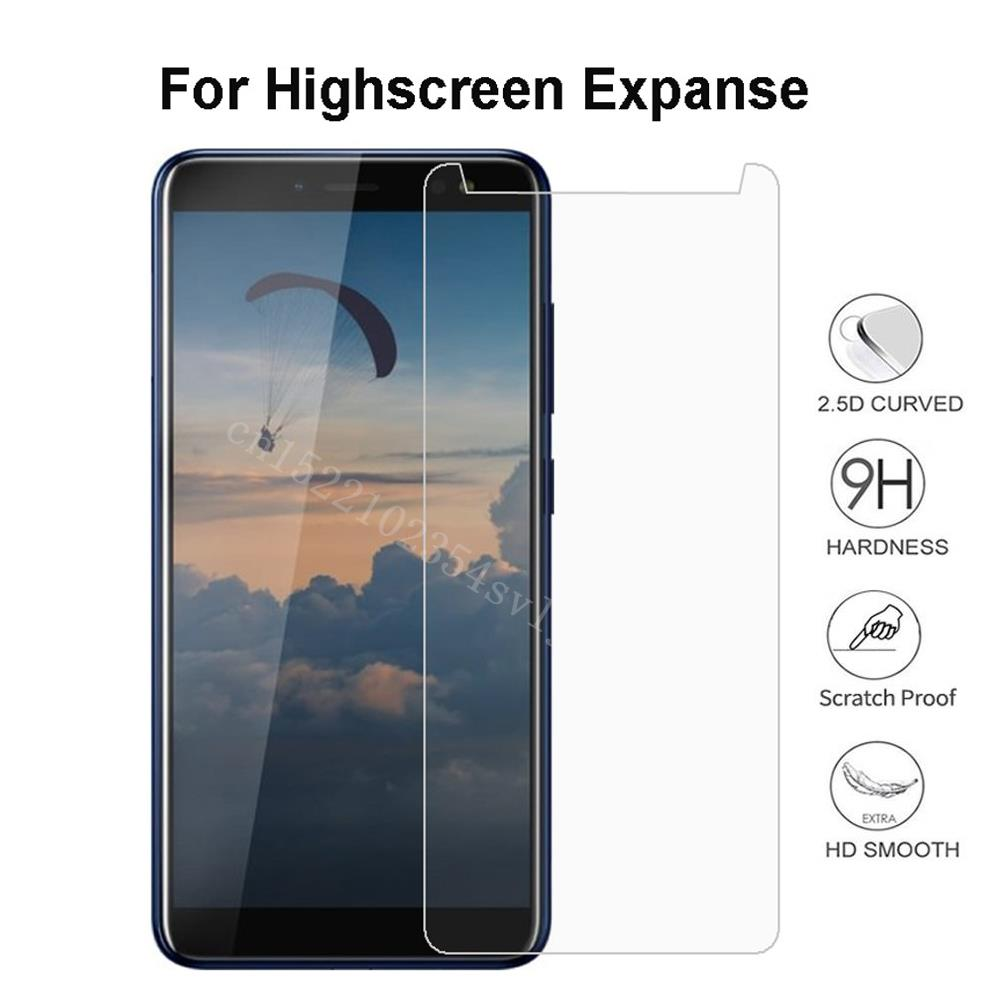 Smartphone Tempered Glass for Highscreen Expanse Explosion-proof Protective Film Screen Protector co