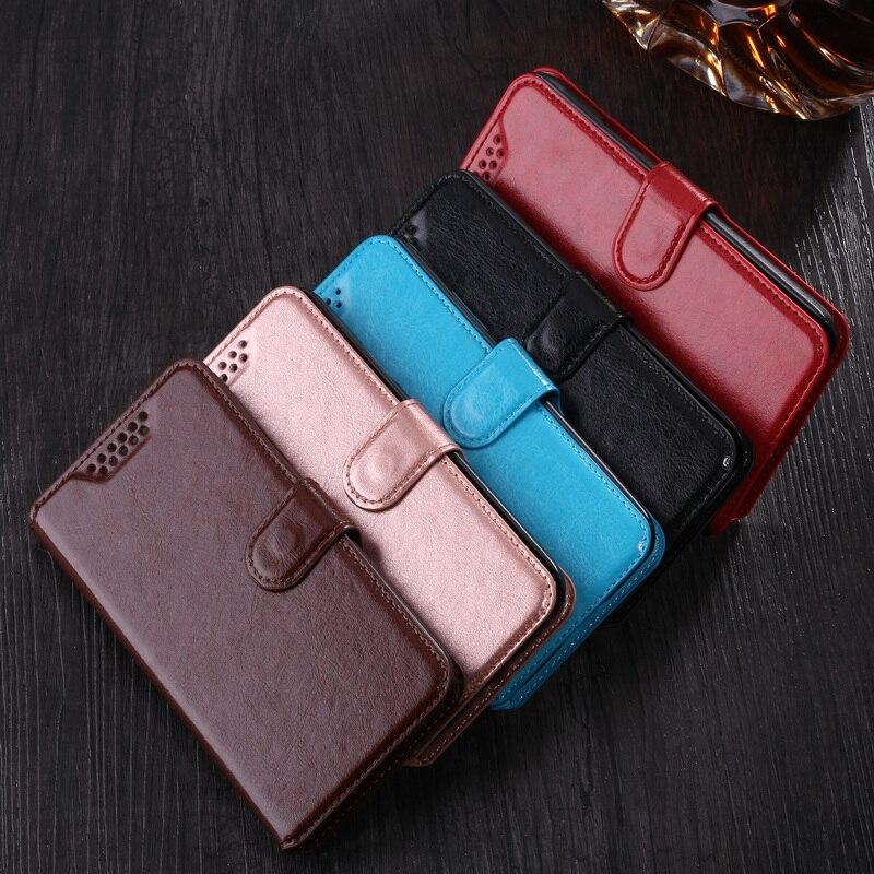Flip Fall für Alcatel 3 V 5099D 5099 5099A Abdeckung Taschen Retro Leder Brieftasche fall Schutzhülle karte halter Buch Magnetische telefon Shell