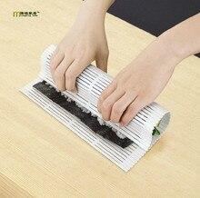 Tapis à Sushi en bambou   Ensemble pour rouleaux de Sushi, aliments japonais, tapis à rouler en bambou, machine à Sushi avec une palette de riz, sushi rodillo OK 0411 1 pièce