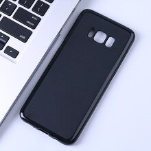 Matte TPU Soft Case Para Samsung Galaxy S8 S8 Plus S8Plus G9500 G950F G950 G955 G955F G955U Silicone Ultra Fino tampa traseira