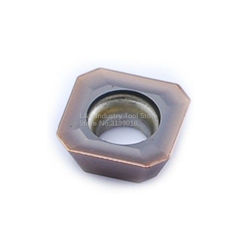 الأصلي ZC C C T الصين نك بليد SEHT1204AFSN YBG205 كربيد إدراج SEHT 1204 AFSN YBG205 ل الفولاذ المقاوم للصدأ طحن إدراج