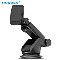 xnyocn telescopic car phone holder for iphone x 8 car windshield dashboard mount magnetic mobile phone holder stand smartphone