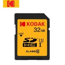 Sd-карта Kodak 16 ГБ 32 ГБ карта памяти класс 10 высокоскоростная карта памяти Tarjeta sd для Canon Nikon Sony камера цифровая SLR камера