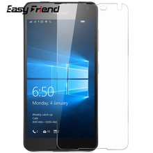 For Nokia Microsoft Lumia 650 N650 LTE Dual SIM Screen Protector Toughened Protective Film Guard Tem